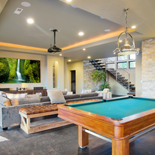 Basement Man Caves Remodeling Plymouth To Boston, MA